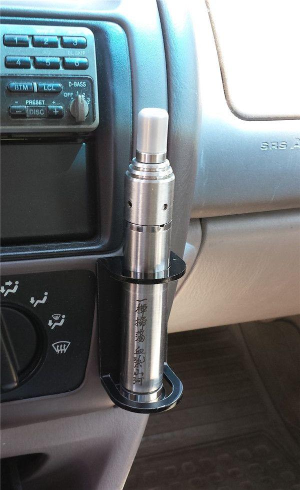 Acrílico e cig display stand prateleira preta cor branca suporte do carro caixa de cremalheira para vapor mech mod mecânica vape ecig ego vv evod e-cigarro DHL