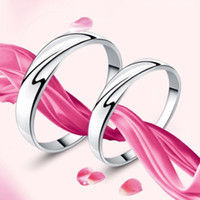 Wholesale Custom Korean Jewelry - Jewelry factory direct 925 Silver Ring couple rings Korean men and ladies rings creative custom jewelry 13