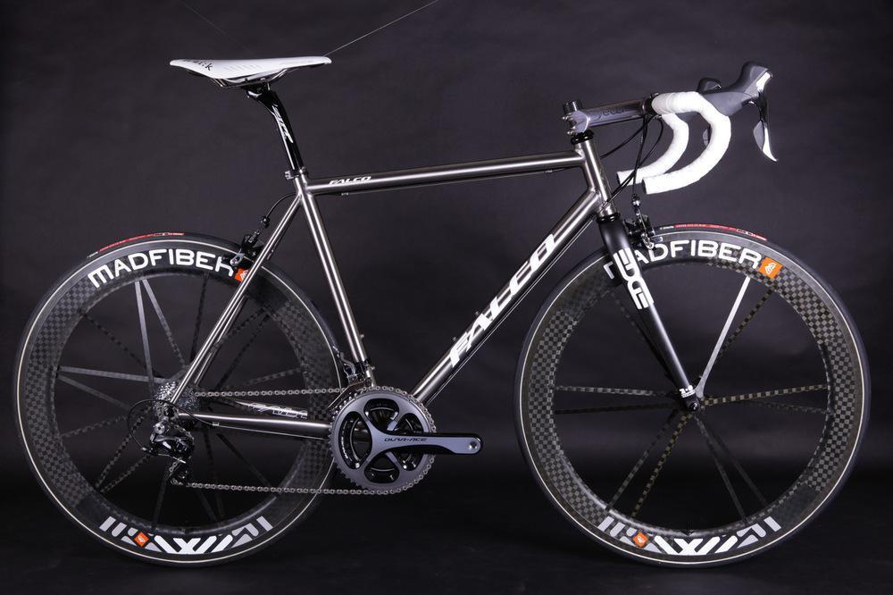New Falco Hobby Interpretation Of The Classic Titanium Road Bikes ...