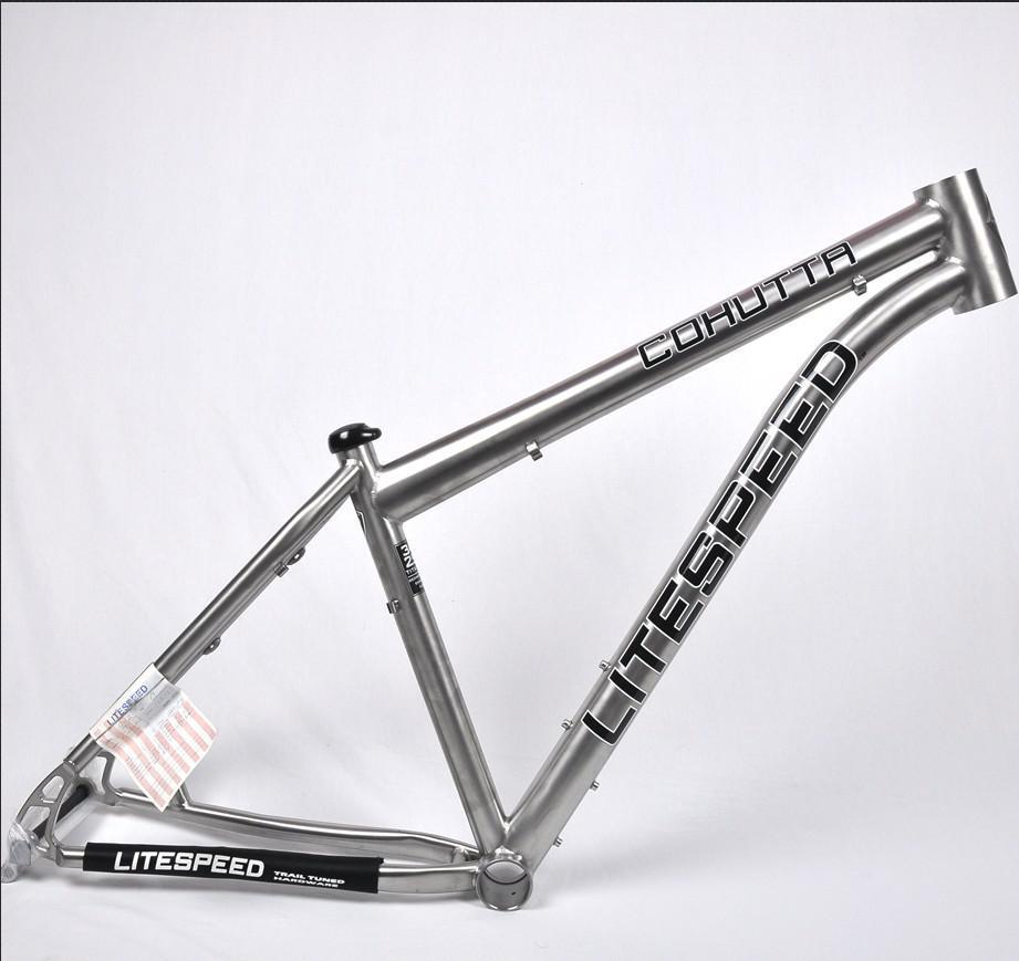 13 Models Litespeed Cohutta Titanium Mountain Bikes Frame 29er ...