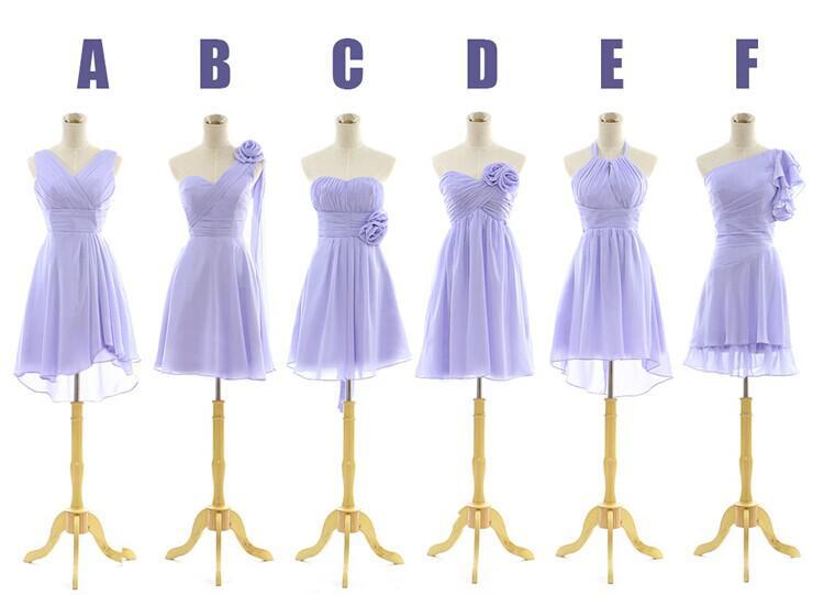 Curto Júnior Dama de Honra Vestidos 2019 novo design de moda chiffon vestido de baile sem alças Dama de Honra Vestido feito sob encomenda