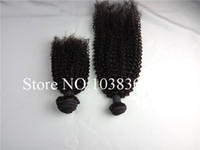 Wholesale Hair Extensions Curtain - Top 100% Cambodia human hair natural color curtain along kinky curly hair can be dyed Hair weft the in stock human hair extensions hair weav