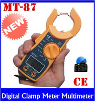 Wholesale Clamp Multimeter Brands - Brand New Digital Clamp Meter Multimeter Current Voltage AC DC Electronic Tester High-quality free shipping