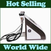 Wholesale Cavitation Machine Uk - UK fast shipping Portable Cavitation RF slimming machine Ultrasonic Liposuction Vacuum Radio Frequency Weight Loss device