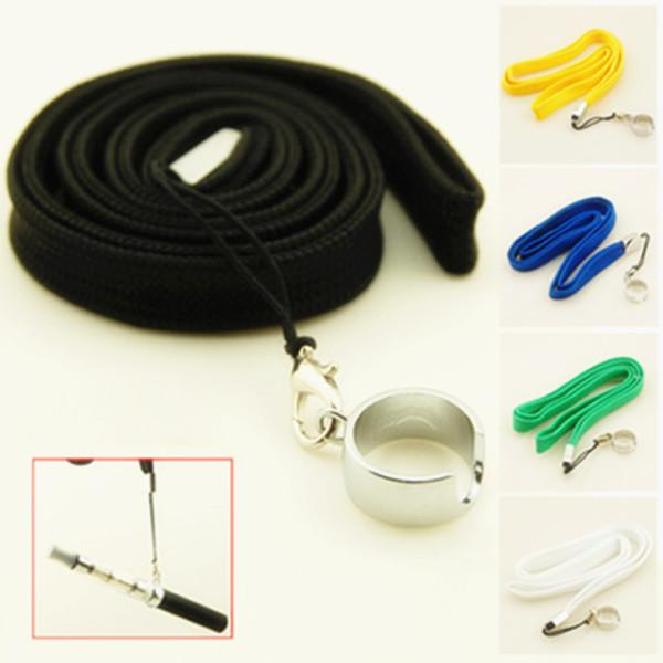 New EGO Necklace Lanyard for eGo-t c EGO E Cigarette Ecig Neck Sling battery ce4 clearomizer 15 kind color Different Colors