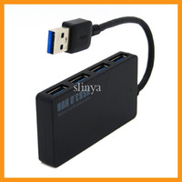 Wholesale 2014 New High Speed USB HUB ports Splitter Adapter For PC Laptop computer with LED Indicator