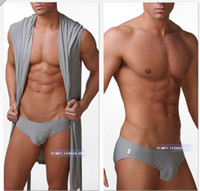 Wholesale N2n Briefs - Wholesale-OP-Crazy Specials N2N men's underwear briefs silky waist smaller