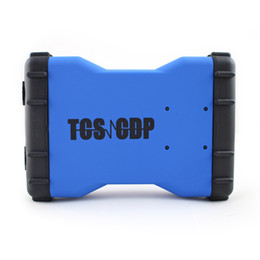 Wholesale New Tcs Cdp Pro Plus - New Design TCS CDP without bluetooth New VCI for TCS cdp pro plus LED 3 in 1 with free activation 2015.3 software free shipping
