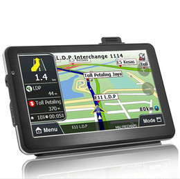 Wholesale Hd Audi - 7 INCH HD CAR GPS NAVIGATOR  NAVIGATION CPU MTK 800MHZ DDR128M ROM 4GB CE6.0 FM(Russia\Ukraine\Belarus\Kazakhstan