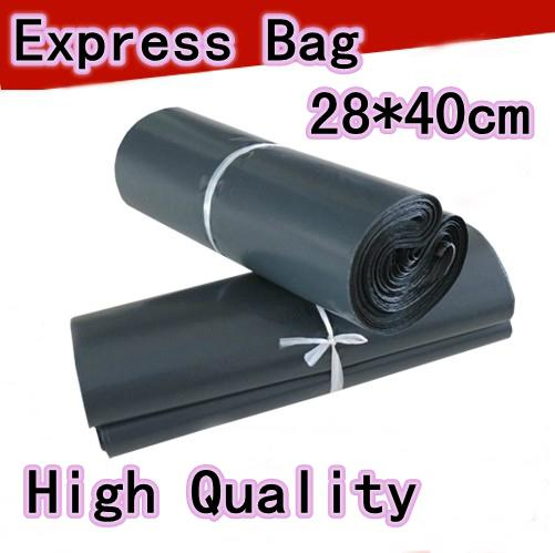 28*40cm Gray Poly Self Adhesive Courier Bag Plastic Envelope Express Shipping Bag Self-seal Mail Bags Courier Post Postal Mailer Bags