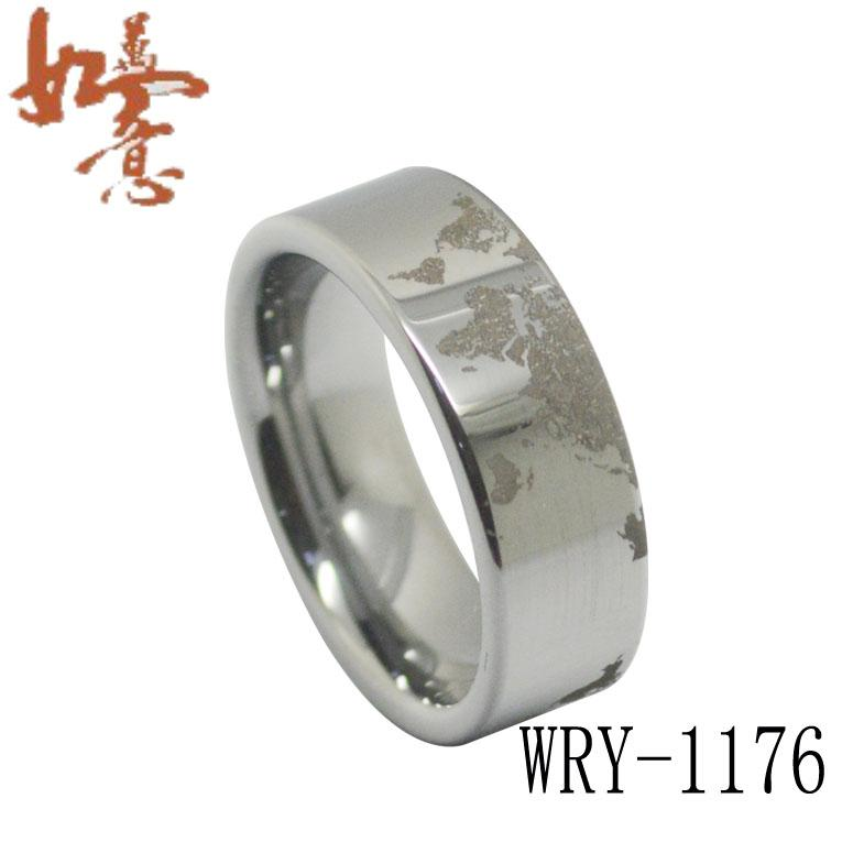 Beautiful World Map Tungsten Carbide Ring Menu0027S Ring Wry 1176 Wholesales Order Are  Welcome Simple Engagement Rings Engagement Ring Settings From  Whitetungstenring, ...