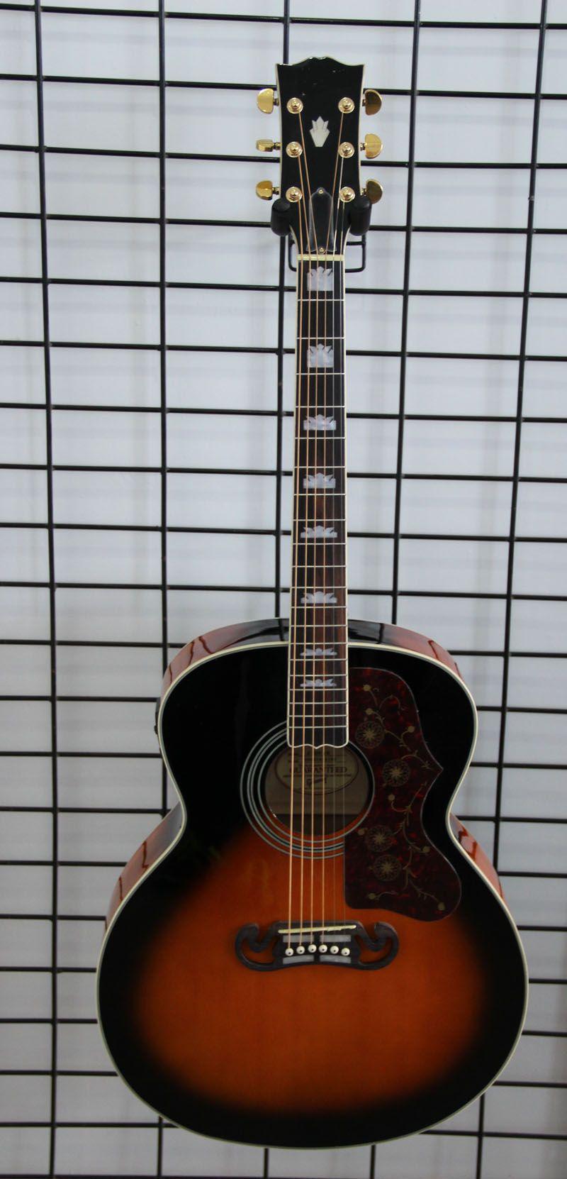 wholesale most popular music instrument 43 39 39 jumbo 6 string j200 acoustic electric guitar. Black Bedroom Furniture Sets. Home Design Ideas