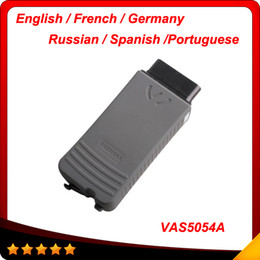 Wholesale german products - 2014 recommand product with bluetooth V19 usb cable vas5054a diagnostic tool tool Multi-language with ODIS V2.0.1.2 free shipping