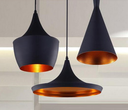 Wholesale Dixon Pendant Lamp - 3pcs pack Black New ABC(Tall,Fat and Wide) Design by tom dixon copper shade musical pendant lamp Beat Light,110V 230V