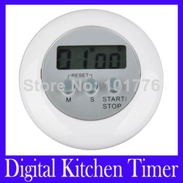 Wholesale Mini Digital Count Up Timer - Free shipping Mini Digital Kitchen timer Count Down Up LCD Display Timer Alarm MOQ=1