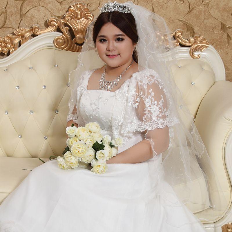 Discount Best Seller Women\'s Wedding Dresses Fat Mm Dress Plus Size ...
