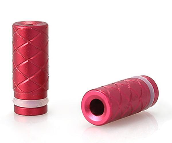 2014 più nuovo design alluminio drip tips acciaio inox drip tips clearomizer bocchini ce4 ce5 vivi nova DCT EGO 510 e cig atomizzatore