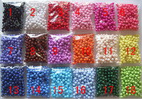 Wholesale Loose Beads For Sale - 26 Colors for choose Or Mixed colors! SALE BULK 1000 pcs 4MM Sweets Candy Smooth Loose Round Acrylic Beads Findings For DIY Jewelry Making