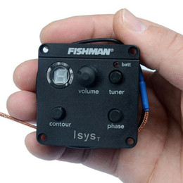 Wholesale Guitar Preamp Tuner - Fishman Isys T Preamp Tuner System For Acoustic Guitar MU0385