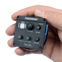 "Wholesale Preamp Guitar Pickup - Fishman ""ISYS +"" Acoustic Guitar Pickup Preamp Eq Tuner guitar pickups MU0384"