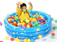 Wholesale ocean ball pit for sale - Group buy 5 CM Colorful Ball Funny floating water ball Soft Plastic Ocean Ball Baby Kid Swim Pool Pit Toy