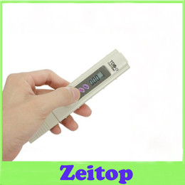 Wholesale Digital Tds Meter Tester Filter - Portable Pen Type Digital Display TDS-3 Meter Swimming Pool Water Quality Tester Purifier Filter Quality Purity
