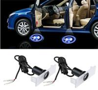 luces de la puerta de bmw al por mayor-Nueva luz de bienvenida del láser de la puerta del coche 2x LED para todos los BMW 3 5 6 Series E36 M3 X5