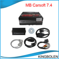 Wholesale Mercedes Obd2 Tool - MB Carsoft 7.4 Multiplexer MCU Controlled Interface for Mercedes Benz OBD2 EOBD UOBD tool DHL Post Free Shipping