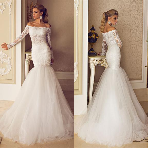 Dimitrius Dalia 2014 Newest Style Lace Mermaid Wedding Dresses