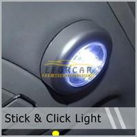 Wholesale Stick Tap Lights - 10Pcs lot 3 LED Stick Stick Tap Touch Car Night Bathroom Closet Wardrobe Lamp Light Free Shipping