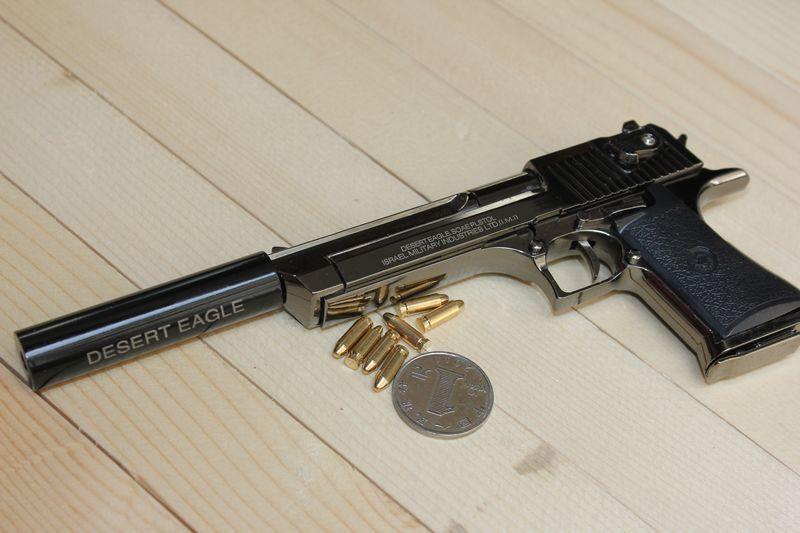 2019 05 with silencer gun full metal the disassemblability pistol