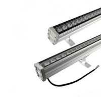 led bar appliques extérieures achat en gros de-Barre lumineuse de joint de mur de 24W LED IP66 24leds les projecteurs extérieurs 24X1W