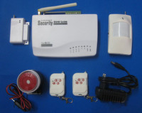 Wholesale Wireless Gsm System Manual - Best Price GSM HOME BURGLAR ALARM SYSTEM New Version More Powerful Prompt Voice With Russian Manual S206