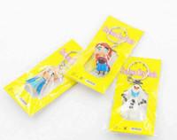 Wholesale Led Keychain Pcs - Hot sale 3D Frozen Olaf Anna Elsa pvc Keychain High quality Cute toys for children 20 pcs alot