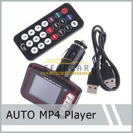 """1 Set 1.8 """"LCD Voiture MP4 Lecteur MP3 Transmetteur FM Sans Fil SD / MMC fente de carte Télécommande Infrarouge Multi-langues Livraison Gratuite ? partir de fabricateur"""