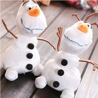 Olaf Frozen princess doll plush toys Frozen Olaf 18cm snow w...