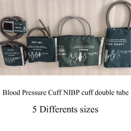 Wholesale Reusable Cuffs - 6 differents size of Reusable multi sizes Blood Pressure Cuff NIBP cuff double tube for Blood Pressure Monitor & Patient Monitor