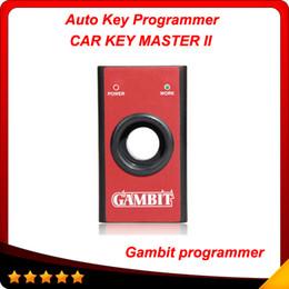 Wholesale Rfid Codes - High quaity Gambit programmer CAR KEY MASTER II RFID transponders Programming and Generating Scanner Professional key programmer