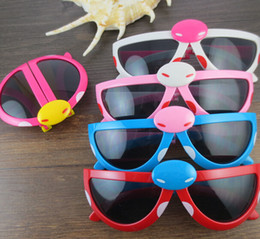 Radiation Sunglasses Canada - Lovey Fashion decoration eyewear girl boy anti radiation kid's sunglasses foldable lovely ladybug cartoon beetle UV400 Protection glasses