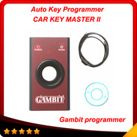 Wholesale Gambit Car Key - Gambit programmer Car Key Programmer Gambit MASTER II High quality Auto key programmer DHL free shipping
