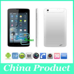 3g Sim Call Canada - Phablet 7 inch MTK8382 quad Core tablet pc Dual SIM Dual Camera 512M 8G 3G phone call tablet GPS 002390