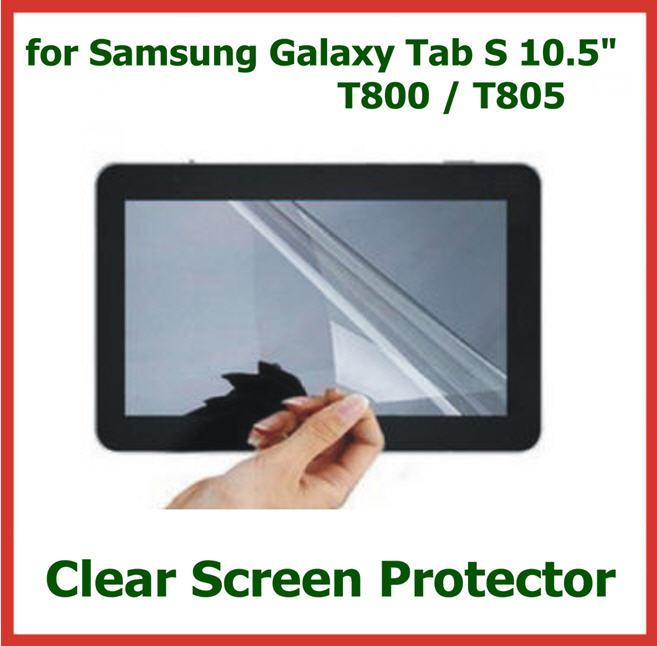 10pcs Ultra Clear LCD Screen Protector for Samsung Galaxy Tab S 10.5 T800 T805 Protective Film