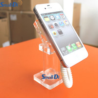 Wholesale Display Phone Model - Acrylic Cell Phone Rack Model Display Stand Mobile Retail Holder Dummy Display Bracket Retail Store Anti-theft