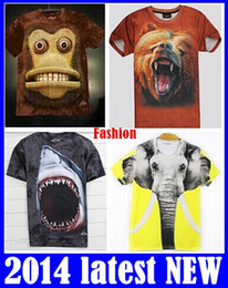 Wholesale T Shirt 3d Mountains - Free shipping 100% Original Quality 3D tshirt for men, The Mountain brand cotton men t shirt,3D printed t-shirts for men 9models