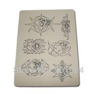 Wholesale Tattoo Skin Practice Sheets - Hot Sell 5pcs Blank Tattoo Practice Skin 15X20CM Premium Mix Sheet Needle Machine Tattoo Accessories Supply Free Shipping