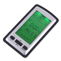 Wholesale Digital Indoor Outdoor Wireless - Digital Indoor Outdoor In Out Meter Thermometer Hygrometer Wireless Weather Forecast Station Electronic 2014 New H4315