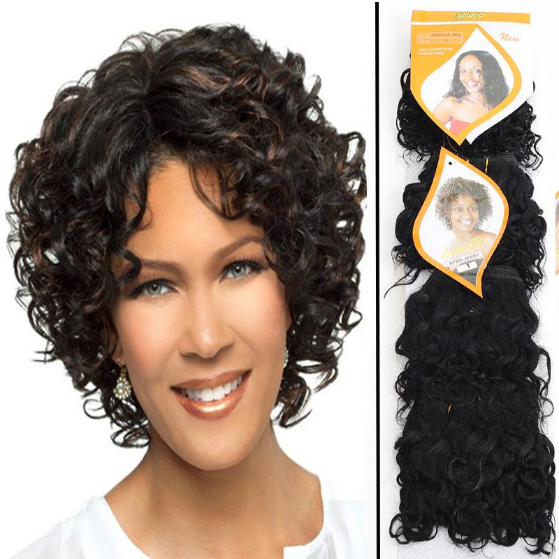 Cheap adorable jerry curl 1 short curly synthetic hair extension 6pcslotfree shipping adorable jerry curl 4pcsset 6 color1 short curly synthetic hair extension synthetic hair weaving hair weft weaves pmusecretfo Choice Image