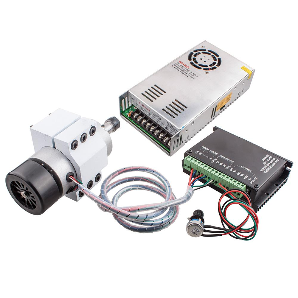 2018 diy cnc kit m335 stepper motor driver 400w spindle