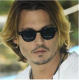 Wholesale Vintage Sunglasses Depp - New Retro Vintage Johnny Depp Style Sunglasses, Designer Women Men Fashion Sun Glasses, 10pcs lot Free shipping