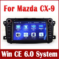 Wholesale Screen Tv For Auto - Car DVD Player for Mazda CX9 CX-9 2007-2013 with GPS Navigation Radio Bluetooth TV USB SD AUX iPod SWC 3G Auto Audio Video Stereo Navigator